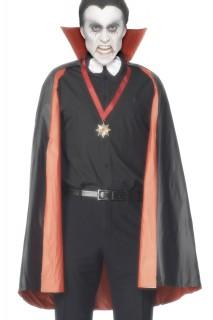 Vampir Wendeumhang rot-schwarz