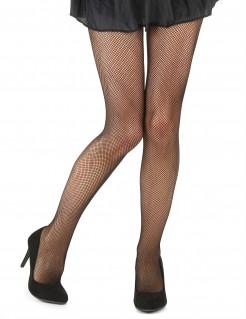 Damen Netzstrumpfhose Halloween schwarz