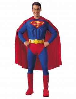 Deluxe Superman™-Kostüm für Erwachsene rot-blau-gelb