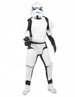 Star Wars Stormtrooper Herrenkostüm Lizenzware weiss-schwarz