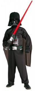 Darth Vader Kinderkostüm schwarz
