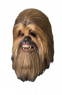 Offizielle Chewbacca-Maske für Erwachsene Star Wars™-Lizenzartikel braun