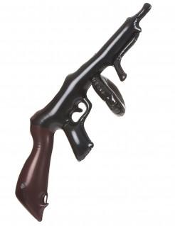 Maschinengewehr aufblasbar schwarz-braun 75cm
