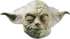 Meister Yoda™-Maske für Erwachsene grün-grau