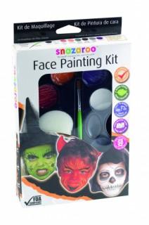 Schminkset von Snazaroo Halloween Make-Up Zubehör 9-teilig bunt