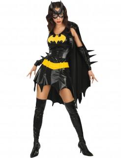 Sexy Batgirl™-Kostüm für Damen schwarz-gelb