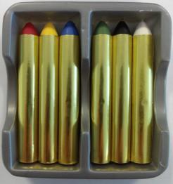 Schminkstift-Set 6 Stück bunt