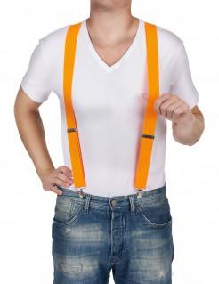 Hosenträger für Halloween orange