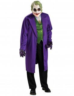 Dark Knight™ Joker™ Halloween-Herrenkostüm Lizenzware lila-grün