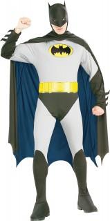 Batman™-Retrokostüm grau-schwarz-gelb