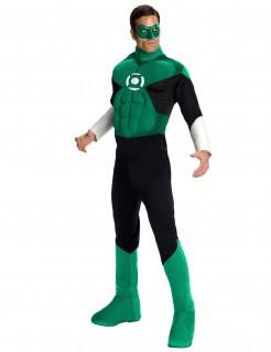 Green Lantern™-Herrenkostüm grün-schwarz-weiss