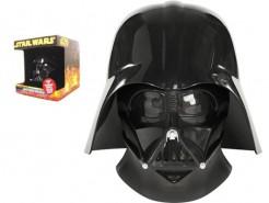 Darth Vader™ Lizenzmaske für Erwachsene schwarz