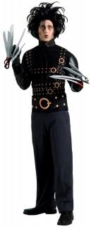 Edward mit den Scherenhänden Halloweenkostüm Lizenzware schwarz