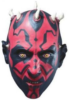 Darth Maul™-Maske Star Wars™ für Erwachsene schwarz-rot-weiss