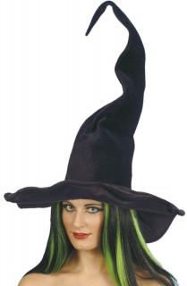 Halloween Hexenhut schwarz 60cm