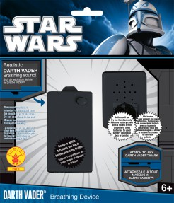 Darth Vader Atem Simulator Lizenzware schwarz