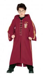Harry Potter™ Quidditch-Kostüm für Kinder rot-gelb