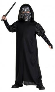 Death Eater-Kinderkostüm Harry Potter™-Lizenzartikel schwarz