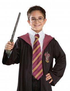 Gryffindor™-Krawatte Harry Potter™-Accessoire rot-gelb