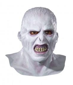 Lord Voldemort Deluxe-Latexmaske Lizenzartikel grau-rosa-beige