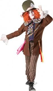 Disney Verrückter Hutmacher Kostüm Lizenzware braun-bunt
