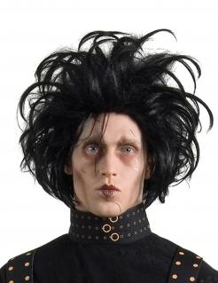 Offizielle Edward mit den Scherenhänden™-Perücke für Herren Filmperücke schwarz