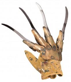 Freddy Replica-Handschuh Lizenzartikel bronze-silber