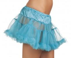 Petticoat Tutu Rüschen blau