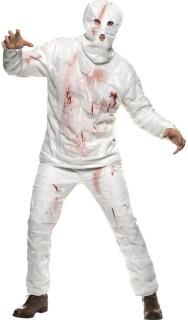 Mumie Monster Kostüm weiß