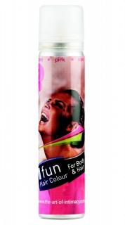Körper- und Haarspray für Halloween pink 75ml