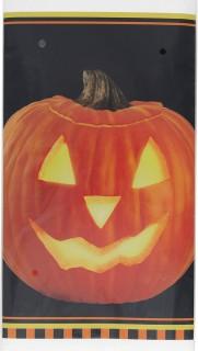 Halloween-Tischdecke Kürbis Halloween-Tischdeko bunt 137x274cm