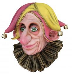 Narren-Maske für Erwachsene bunt