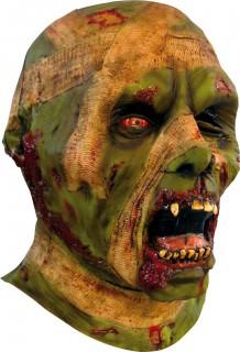 Mumien Maske Halloween Kostümaccessoire grün