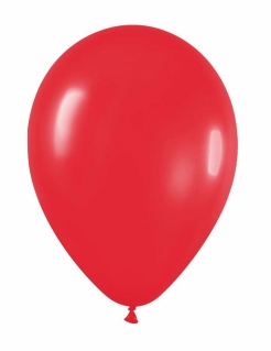 Luftballons 24 Stück rot 25cm