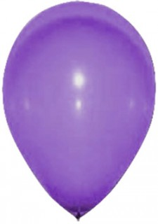 Halloween Party-Luftballons 24 Stück violett 25cm