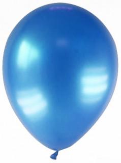 Luftballons 12 Stück metallic-dunkelblau 28cm