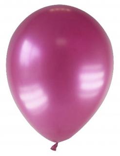 Luftballons 12 Stück metallic-bordeaux 28cm