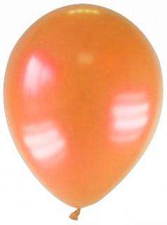 Partyballons Luftballons 12 Stück orange 27cm