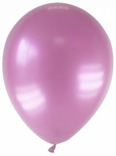 Luftballons 12 Stück metallic-rosa 28cm