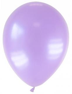 Luftballons 12 Stück metallic-lila 28cm