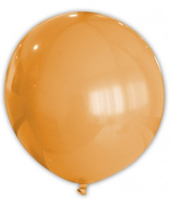 Riesen-Luftballon orange 80cm