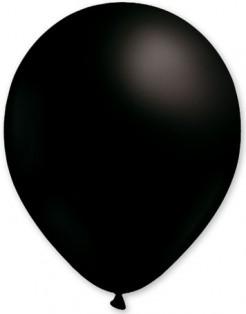 Party-Ballons 100 Stück schwarz 30cm