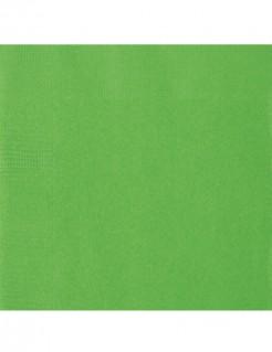 Papierservietten Tischdeko 20 Stück grün 33x33cm