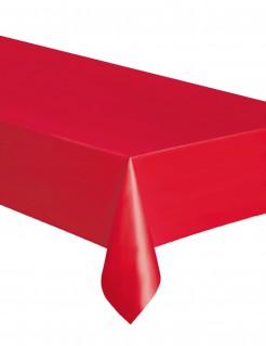 Einweg-Tischdecke rot 137,16x274,32cm