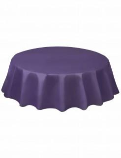 Runde Tischdecke Einweg-Tischdecke violett 213cm