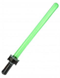 Aufblasbares Laserschwert grün-schwarz 80cm