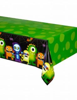 Süsse Monster Halloween Tischdecke bunt 137x259cm