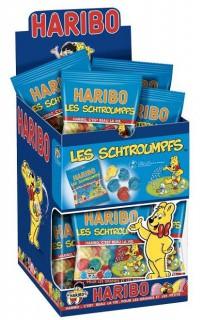 Haribo Schlümpfe Süßigkeiten Minibeutel bunt 40g