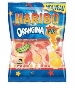 Saure Orangina-Fruchtgummis Haribo bunt 120g