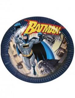 Batman™-Pappteller 6 Stück bunt 23cm
